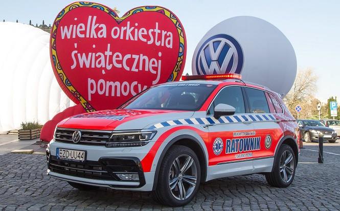 Volkswagen oraz WOŚP przeszkolą Małych Ratowników