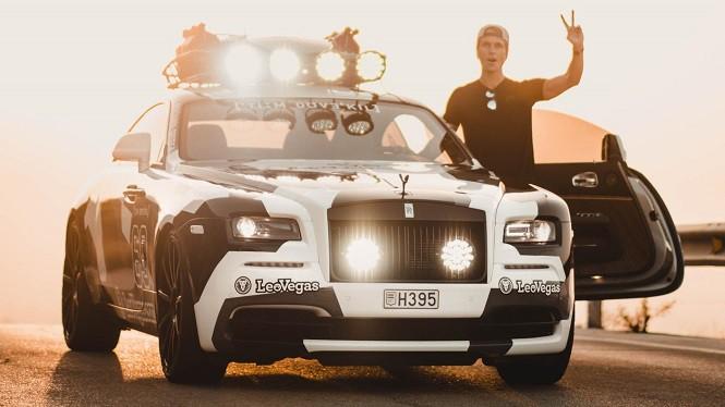 Jon Olsson ma nową furę - to zmodyfikowany Rolls-Royce Wraith