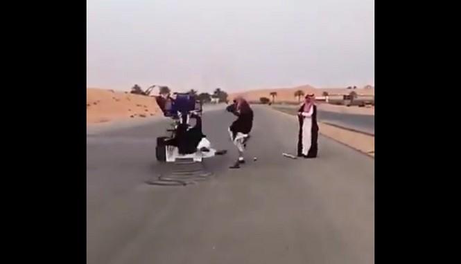 Arabskie zabawy z quadem