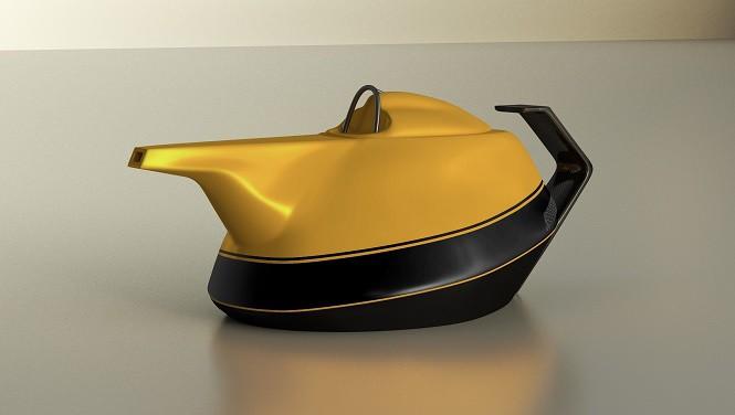 Renault 40 lat temu wystartowało w Formule 1. Teraz wprowadza na rynek... żółty czajnik!