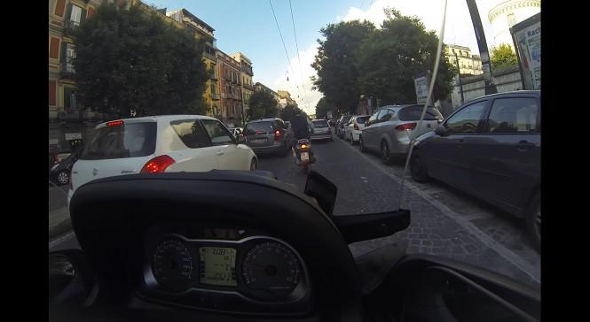 Sposób na korki według szalonego Włocha