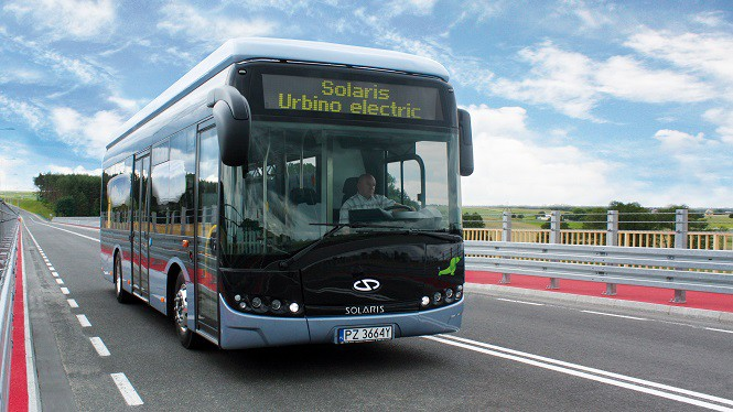 Solaris zdobył zamówienie na pierwsze autobusy elektryczne w Brukseli