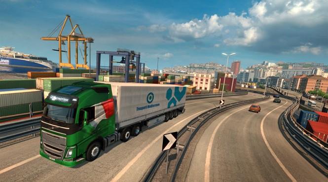 Nowy dodatek do Euro Truck Simulator 2. Pojeździsz po Italii!