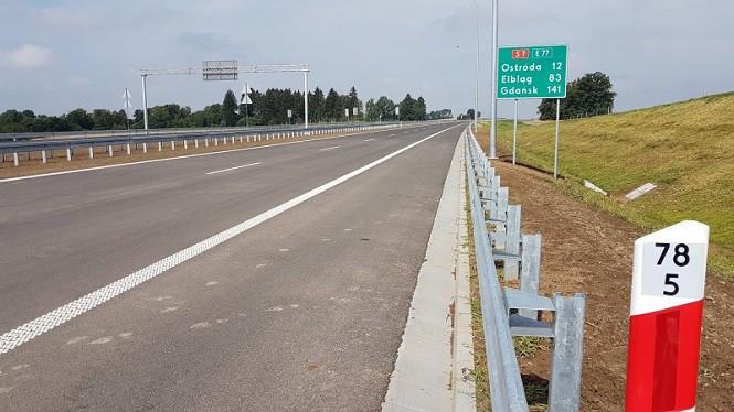 Oddano do użytku kolejny odcinek trasy S7