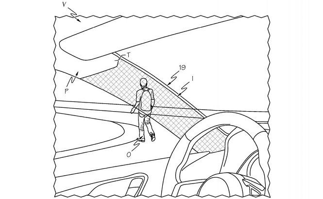 """Toyota opatentowała """"przezroczyste"""" przednie słupki"""