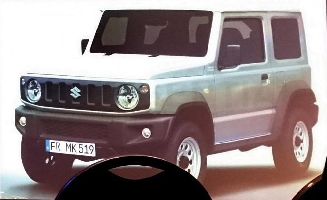 Wyciekły zdjęcia nowego Suzuki Jimny