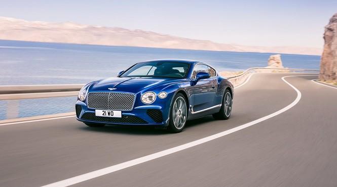 Kolejna generacja Bentleya Continentala GT właśnie ujrzała światło dzienne
