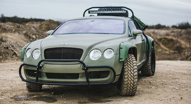 Marzyłeś o Bentleyu przygotowanym do jazdy w terenie? Oto propozycja dla Ciebie!