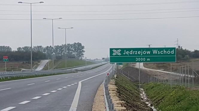 Oddano do użytku 20-kilometrowy podcinek drogi S7