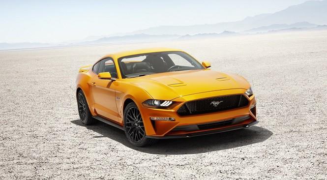 Ford Mustang po faceliftingu