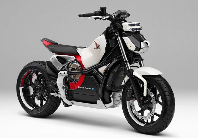Kolejny samodzielnie pionujący się motocykl koncepcyjny od Hondy