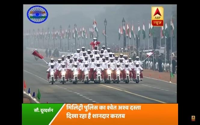 Hinduska parada z okazji 68. Dnia Republiki