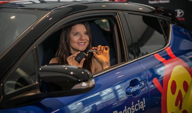 Jakim autem jeździ Joanna Jabłczyńska?