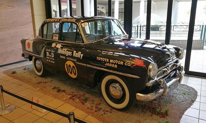 Pierwszy samochód rajdowy Toyoty