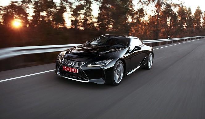 Lexus stworzy model LC w wersji F