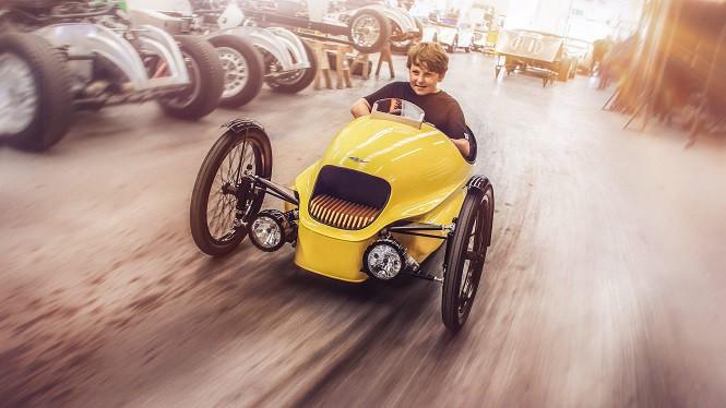 Morgan EV3 Junior: trójkołowy Morgan dla dzieciaków