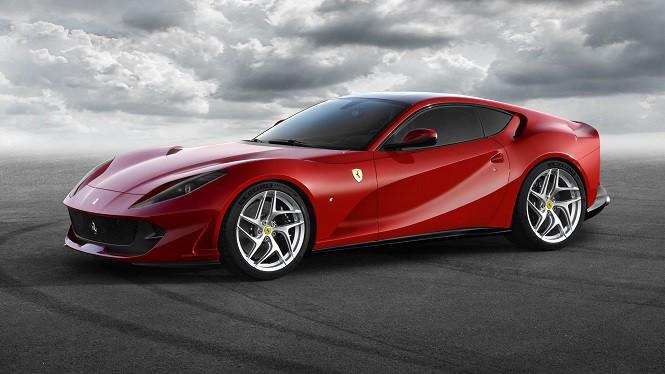 Ferrari 812 Superfast - następca modelu F12 Berlinetta
