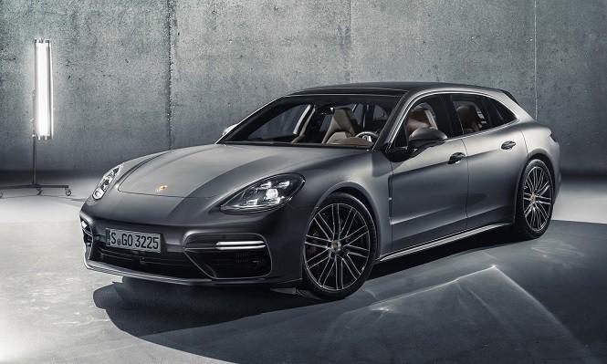 Porsche Panamera Sport Turismo: praktyczniejsza wersja Panamery