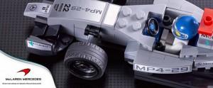 Ferrari, McLaren i Porsche z klocków Lego