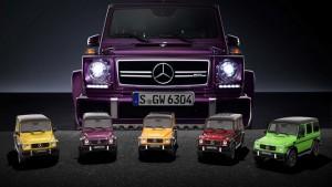 Kolorowy Mercedes-AMG G63: idealny do biura lub na prezent