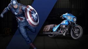 Harley-Davidson stworzył 25 motocykli inspirowanych bohaterami komiksów Marvela