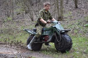 Taurus 2x2: motocykl, który wjedzie wszędzie!