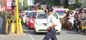 Policjant jak Michael Jackson