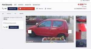 Aaaaaby sprzedać: Fiat Seicento