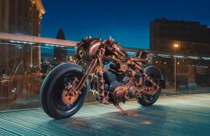 Game Over Cycles Cafe Racer: wyjątkowy motocykl stworzony dla Hard Rock Cafe