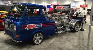 Ford Econoline z czterema silnikami V8 o łącznej mocy 4000 KM!
