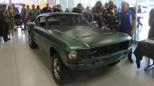 Odnaleziono Forda Mustanga z filmu Bullitt!