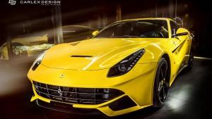 Carlex Design zmodyfikował wnętrze Ferrari F12 Berlinetta