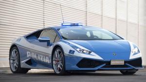 Kolejne Lamborghini w służbie włoskiej policji