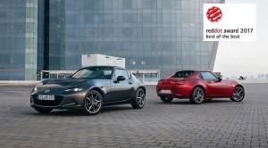 Mazda MX-5 RF zdobyła główną nagrodę Red Dot 2017