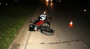 33-letni motocyklista ofiarą tragicznego wypadku w centrum Piaseczna