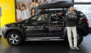 Dacia została partnerem wyprawy Piotra Pustelnika na biegun południowy