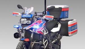 Motocykle ratownicze BMW zadebiutowały na Poznań Motor Show 2017