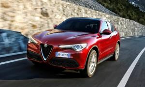 Nowy model Alfa Romeo Stelvio na oponach Goodyear Eagle F1 Asymmetric 3 SUV