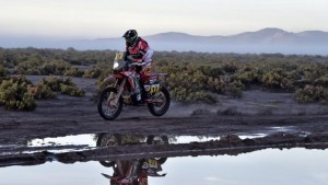 Joan Barreda wygrał trudny ósmy etap Rajdu Dakar