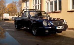 Mercedes Klasy E z nadwoziem typu... pick-up