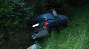 Naćpany kierowca uciekał przed policją wioząc w aucie ciężarną kobietę