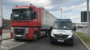 Pijany kierowca ciężarówki we krwi ponad 2 promile alkoholu