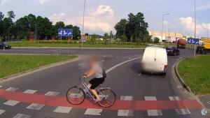 62-latek potrącił rowerzystkę na ścieżce rowerowej