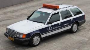 Ten Mercedes S124 przejechał ponad 2 mln kilometrów i dalej jeździ