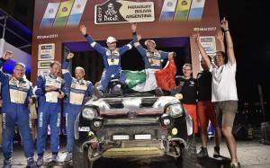 Fiat Panda ukończył tegoroczny Rajd Dakar