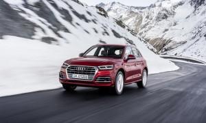 Osiem milionów samochodów Audi z napędem na cztery koła quattro