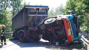 Tragiczny wypadek z udziałem ciężarówki w Tychach