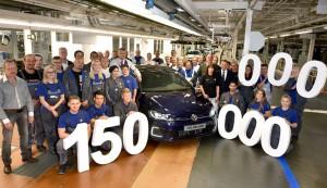 150 milionowy Volkswagen opuścił taśmę produkcyjną fabryki w Wolfsburgu