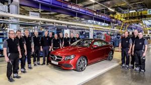Ruszyła produkcja nowego Mercedesa Klasy E Coupe