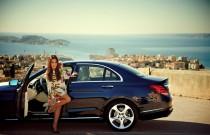 Anna Mucha testowała nowego Mercedesa Klasy C